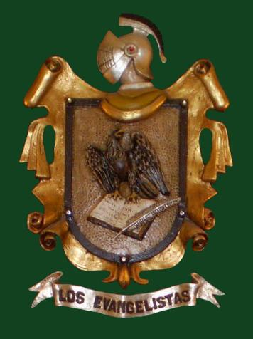 Escudo de la Corporación Bíblica Los Evangelistas