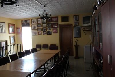 Salón de arriba del Cuartel de los Evangelistas
