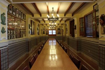 Salón Principal del Cuartel de los Evangelistas