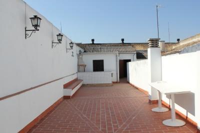 Terraza del Cuartel de los Evangelistas