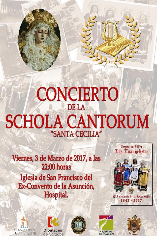 Concierto de la Schola Cantorum - 75 Aniversario Los Evangelistas